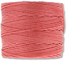 S-Lon Beading Cord - Chinese Coral Spools of Max 87% OFF 4 Tube Classic 77yd Per