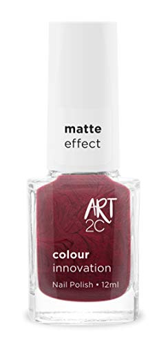 Art 2C - Esmalte de uñas efecto mate, 11 colores, 12 ml, color: Maneater (MT50)