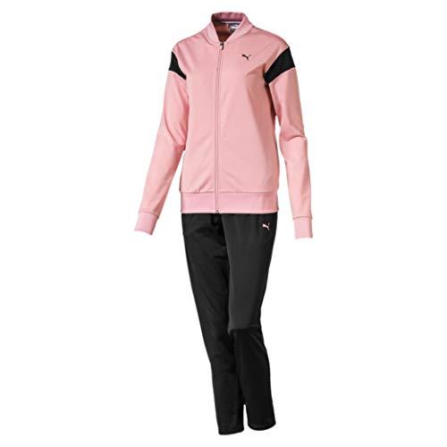 PUMA Damen Classic Tricot Suit, op Trainingsanzug, Bridal Rose, XS