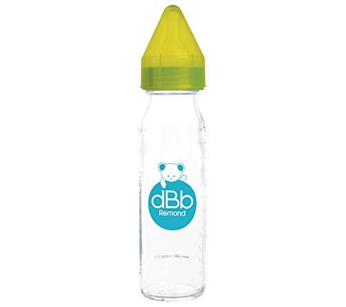 dBb Remond NN Saugerflasche aus Silikon in Box, 237 ml, Grün