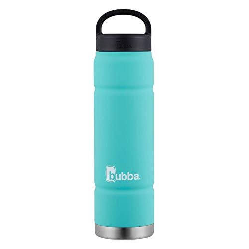 24oz Wide Mouth Insulated Stainless Steel Water Bottle (Teal Green) Bubba Collection
