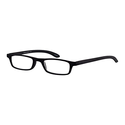 I NEED YOU Lesebrille Zipper / +1.50 Dioptrien / Schwarz