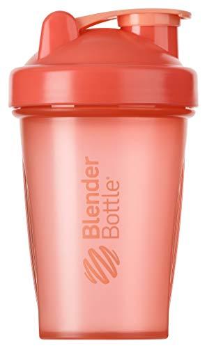 BlenderBottle Classic Shaker | Shaker Protéine | Bouteille d'eau |Blenderball | 590ml - Coral