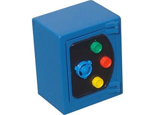 BTV Box ALHAJAS BTV Spardose Stahl gelb 135X110X80MM blau