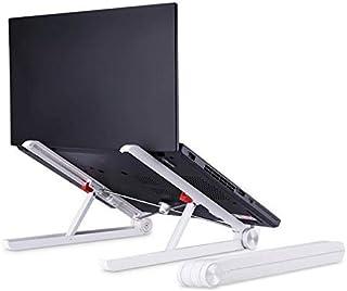 حامل لاب توب قابل للطي، ارتفاع قابل للتعديل، رافع للشاشة، حامل مدمج وقابل للطي موجه لاجهزة ماك بوك
