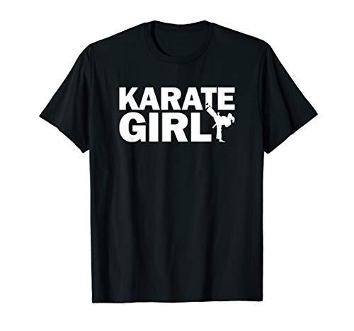 Kampfsport Martial Arts Karate Girl T-Shirt