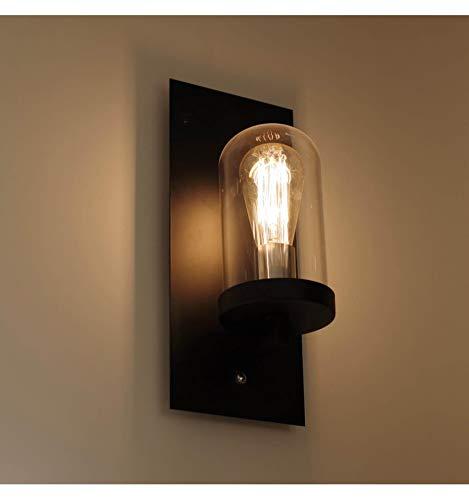 KOSILUM - Lampe bougeoir cloche en verre - Elira - Lumière Blanc Chaud Eclairage Salon Chambre Cuisine Couloir - 1 x 40 W - - E27 - IP20