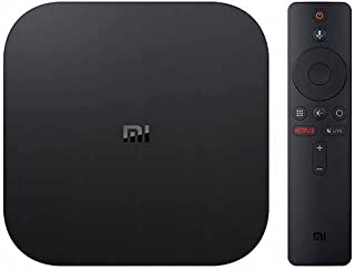 Mi TV Box S 4K Ultra HD ,Android TV 9.0 HDR, Compatible for Chromecast and Google Assistant