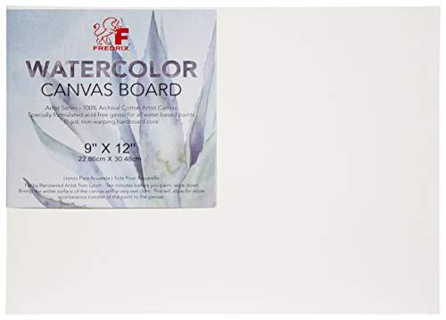 Tara Materials Fredrix 9x12 Watercolor Canvas Board