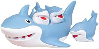 D&D Distributing Shark Family Bath Toy - Floating Fun!