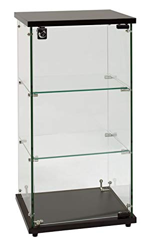 SSWBasics Infinity Countertop Display Case (Ready to Assemble) - 12-1/4'W x 14-1/4'D x 27-1/4'H