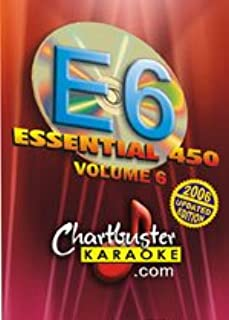 Chartbuster Essential 450 Collection Vol. 6 - 450 MP3G's on SD Card