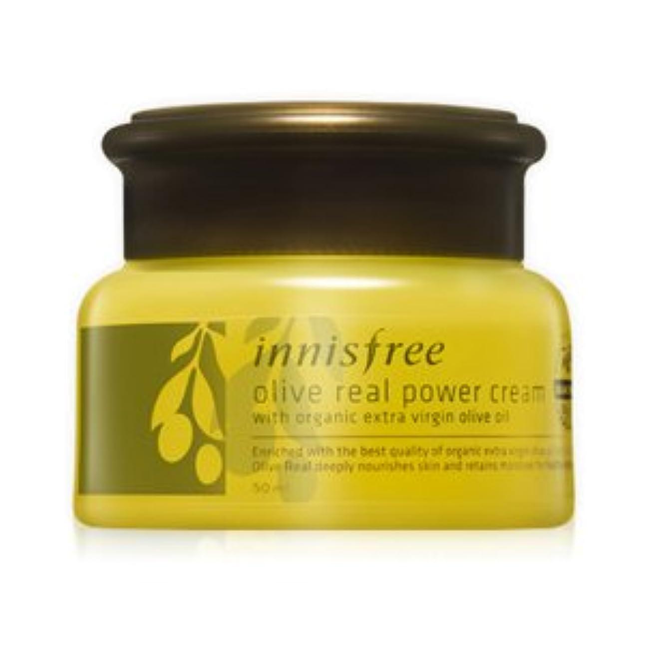 期限素敵なできるinnisfree(イニスフリー) 強力保湿 オリーブ リアル パワー クリーム 艶やかな肌 50ml