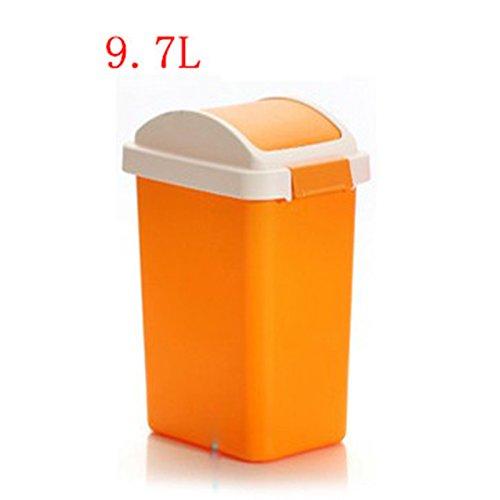 Scrub la poubelle à coquille extérieure ( Couleur : Orange , taille : L )