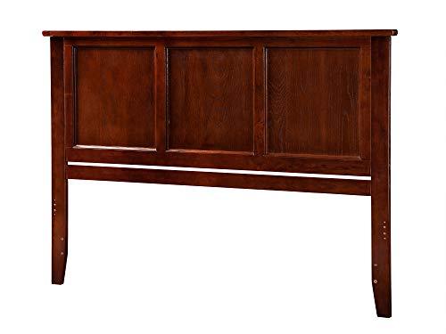 Atlantic Furniture Madison Headboard, Queen, Walnut,AR286844