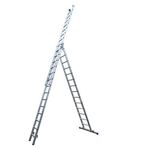 Alumexx XD Ladder (3-Delig) - Reformladder - Schuifladder (3x16)