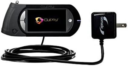 Gomadic High Output Home Wall AC Charger designed for the Provo Craft Cricut Gypsy with Power Sleep technology - Intelligently designed with Gomadic TipExchange