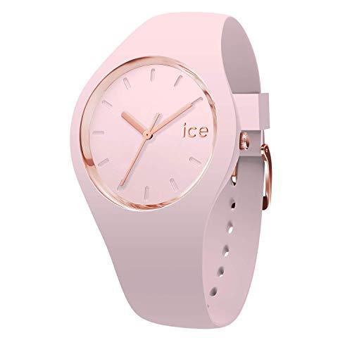 Ice-Watch - ICE glam pastel Pink lady - Rosa Damenuhr mit Silikonarmband - 001069 (Medium)