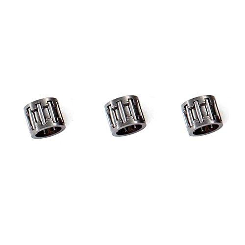 Preisvergleich Produktbild AISEN 3 Stück Nadellager für Kettenrad passend Partner 350 351 370 390 420 Motorsäge