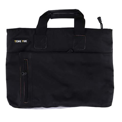Bonarty Maletín Informal de Negocios para Hombre Oxford Laptop Bag para Notebook