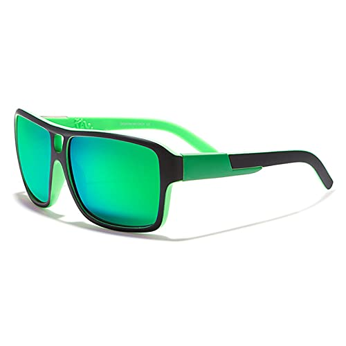 Amethyst Gafas de Sol para Hombres y Mujeres, protección UV400 polarizada, Montura Liviana, Gafas de Sol Deportivas para béisbol, Golf, Caza, Correr, Conducir, Bicicleta, Escalada,B