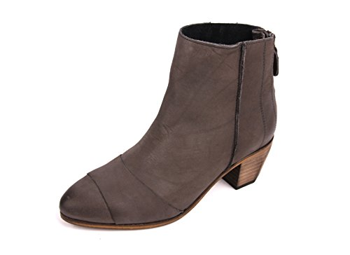 Hub haghe by Stiefelette Ankle Boot Dark Grey/Natural (37)