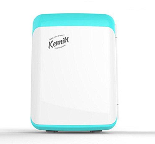 Q-HL Auto Elektrische Kühlschrank Kühlbox, 10L Auto Kühlschrank, tragbare Mini Kühlschrank, AC und DC Hotspot System, Thermostat. (Color : Blue)