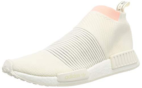 adidas NMD_Cs1 PK W, Scarpe da Ginnastica Donna, Bianco (Cloud White/Cloud White/Clear Orange), 40 EU