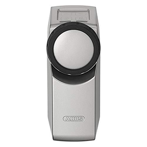 ABUS HomeTec Pro Z-Wave-Türschlossantrieb CFA3010 - Elektrisches Türschloss zum schlüssellosen Öffnen auf Knopfdruck - Silber - 82967