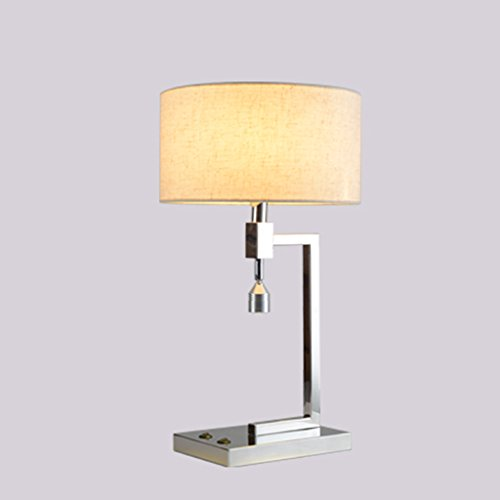 Bonne chose lampe de table Lampe de lecture simple Lampe à tête de lit Led Chambre Salon Bureau Protection des yeux Lumières de la chambre d'hôtel