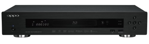 OPPO BDP-103 Universal Disc Player (SACD / DVD-Audio / 3D Blu-ray)
