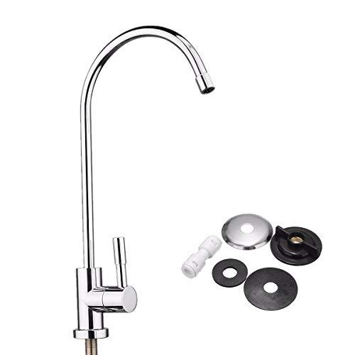 Global Brands Online 1/4 Zoll Chrom Trinken RO Wasserfilter Wasserhahn Finish Umkehrosmose Waschbecken Küche