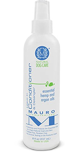 Mauro Natural Dog Leave in Conditioner & Detangler (8 ounces)