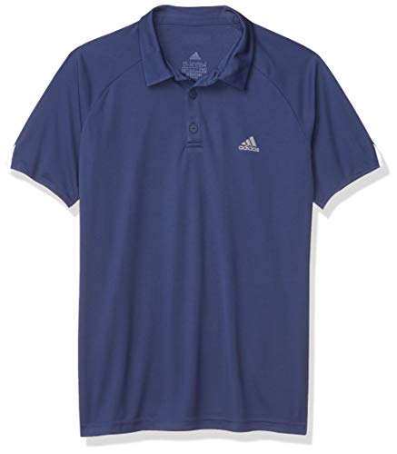 adidas Club Camisa de Polo, añil, Large para Hombre