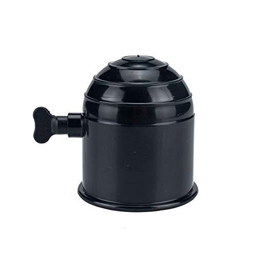 XKSO-QPTY Cuerpo sintético de Cuerda Remolque Bola Bola de Enganche de la Cubierta de Goma Cubierta Se Adapta a 50mm Diámetro de la Bola de Remolque Herramienta de cabrestante (Color : Black)