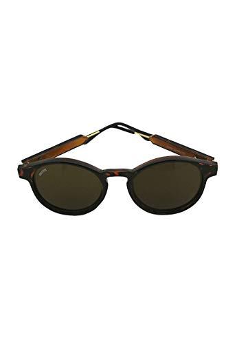 Óculos de sol Magritte Grungetteria AdultoUnissex Marrom Único