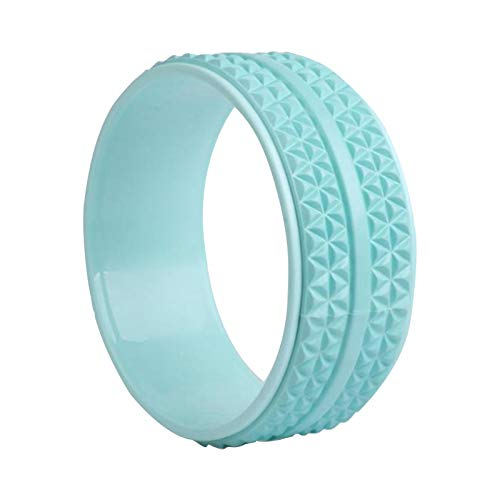 ZQYX Sports Yoga Wheel Roller, Strong and Comfortable Yoga Prop Wheel, for Improving...