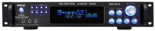 Fantastic Deal! Pyle P1001AT 1000W Hybrid Pre Amplifier with AM/FM Tuner