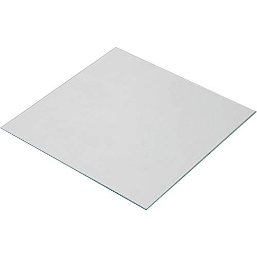 Wisamic Clear Borosilicate Glass Heat Bed 200x200x3mm for 3D Printers Prusa, Monoprice Maker Select V2, etc