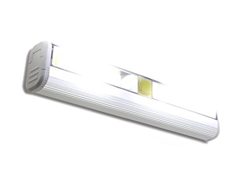 Magnetic Under Cabinet LED Light Bar – Super Bright COB Lighting Battery Operated Stick On Or Mountable Fixture for Closet Kitchen Bathroom and More
