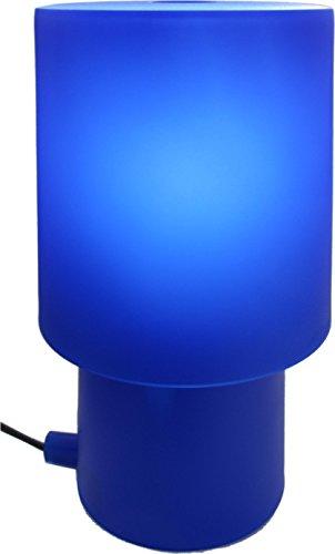 Authentics Tischleuchte / Tischlampe blau