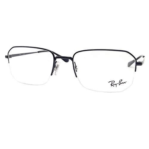 Ray-Ban 処方メガネフレーム US サイズ: 53 mm カラー: ブラック