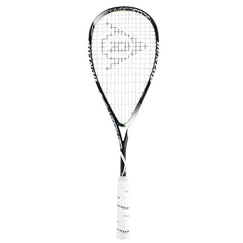 Dunlop hyperfiber + Evolución raqueta de Squash