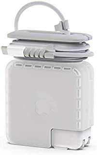 Travel Cord Organizer Compatible with Apple MacBook Charger, Protective Case for Magsafe USB C Power Adapter 61W 65W Mac C...