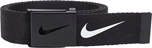 Nike Herren Tech Essential Webgürtel - Schwarz - Einheitsgröße