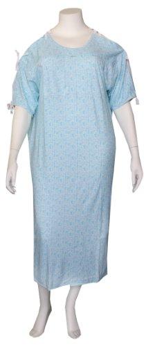 Karen Neuburger Iv Gown with Ties - 3X - Pack of 3
