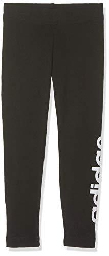 Adidas YG E Lin Tght, Collant Donna, Nero (Black/White), 1415