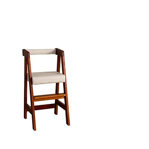キッズチェア リトルチェア プティ・ファミーユ ロー/ハイ ベビーチェア ダイニングチェア 椅子 いす イス 子ども用 子供用 木製 コンパクト 赤ちゃん ベビー 幼児 子供部屋 食卓用 高さ 調整 調節 背もたれ付き (ハイ BR)