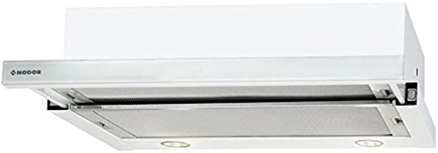 Nodor Extender 340 m³/h Telescópica o extraplana Blanco - Campana (340 m³/h, 58 dB, 64 dB, Telescópica o extraplana, Blanco, Botones): Amazon.es: Hogar