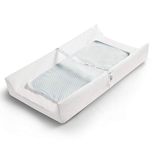 Bbpark Baby Diaper Changing Table Pad, Waterproof Changing Pad for Dresser Top with Liner
